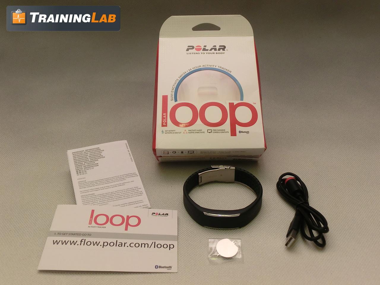 Polar Loop mit Zubehör und Originalverpackung